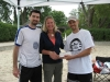 Kevin and Chris presenting the cheque to Participation House of Durham Region